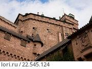 Купить «Стены старинного замка Верхний Кёнигсбург во Франции», фото № 22545124, снято 8 сентября 2010 г. (c) Солодовникова Елена / Фотобанк Лори