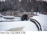 Павловские мосты (2016 год). Редакционное фото, фотограф Александр Невский / Фотобанк Лори
