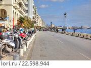 Купить «Набережная города Салоники», фото № 22598944, снято 17 марта 2016 г. (c) Parmenov Pavel / Фотобанк Лори