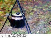 Кипящий чайник. Стоковое фото, фотограф Игорь Аникин / Фотобанк Лори