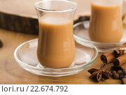 Купить «Masala chai», фото № 22674792, снято 24 января 2019 г. (c) PantherMedia / Фотобанк Лори