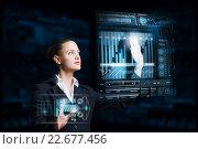 Купить «Modern technologies in use», фото № 22677456, снято 21 сентября 2012 г. (c) Sergey Nivens / Фотобанк Лори