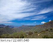 Гран-Канария, горы Caldera de Tejeda весной (2016 год). Стоковое фото, фотограф Tamara Kulikova / Фотобанк Лори