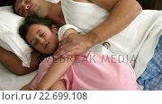 Купить «Dad and daughter sleeping», видеоролик № 22699108, снято 17 февраля 2020 г. (c) Wavebreak Media / Фотобанк Лори