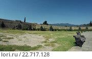 Купить «Древняя каменная стена грузинского царства Мцхета, Грузия», видеоролик № 22717128, снято 31 марта 2016 г. (c) Потийко Сергей / Фотобанк Лори