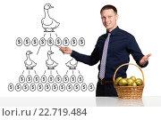 Купить «Scheme of successful business», фото № 22719484, снято 15 апреля 2016 г. (c) Владимир Мельников / Фотобанк Лори