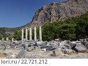 Купить «Ruins of ancient city», фото № 22721212, снято 21 сентября 2018 г. (c) Stockphoto / Фотобанк Лори