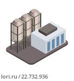 Купить «Модель заводского корпуса», иллюстрация № 22732936 (c) Николай Кувшинов / Фотобанк Лори
