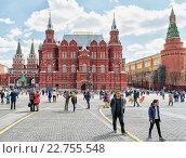 Государственный исторический музей в Москве (2016 год). Редакционное фото, фотограф Depth / Фотобанк Лори