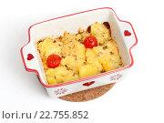 Купить «Картофель с брынзой», фото № 22755852, снято 3 мая 2016 г. (c) Юлия Кузнецова / Фотобанк Лори