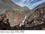Купить «Река в горах на Камчатке», фото № 22776700, снято 20 августа 2014 г. (c) А. А. Пирагис / Фотобанк Лори