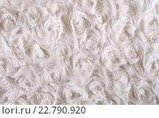 Фон -  текстура искусственного меха бежевого цвета. Стоковое фото, фотограф Светлана Пасечная / Фотобанк Лори