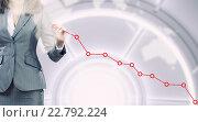 Купить «Analyzing sales data», фото № 22792224, снято 24 февраля 2011 г. (c) Sergey Nivens / Фотобанк Лори