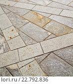 brick in casorate sempione street lombardy italy varese a. Стоковое фото, фотограф Zoonar/LKPRO / easy Fotostock / Фотобанк Лори