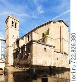 Купить «Church of Santiago el Real in Logrono. Rioja», фото № 22826380, снято 28 июня 2014 г. (c) Яков Филимонов / Фотобанк Лори