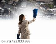 She is absolute winner. Стоковое фото, фотограф Sergey Nivens / Фотобанк Лори