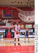 Купить «Аарон Майлз, БК Красные крылья», фото № 22843232, снято 9 ноября 2013 г. (c) Pavel Shchegolev / Фотобанк Лори