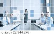 Купить «group of businesspeople pointing finger at you», фото № 22844276, снято 25 октября 2014 г. (c) Syda Productions / Фотобанк Лори
