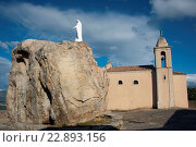Notre Dame de la Serra und Wallfahrtskirche, Calvi, Korsika, Frankreich. Стоковое фото, фотограф Zoonar/Frauke Scholz / age Fotostock / Фотобанк Лори