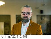 Poznan, Poland, Mateusz Kijowski, founder of KOD (2016 год). Редакционное фото, агентство Caro Photoagency / Фотобанк Лори