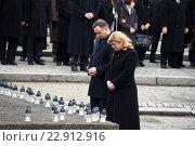 Купить «Auschwitz, Poland, commemorating the 71st anniversary of the liberation of Auschwitz», фото № 22912916, снято 26 января 2016 г. (c) Caro Photoagency / Фотобанк Лори