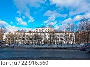 Купить «Родильный дом №1», фото № 22916560, снято 10 марта 2016 г. (c) Ирина Здаронок / Фотобанк Лори