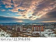 Купить «Улица Папанина», фото № 22916616, снято 7 апреля 2016 г. (c) Ирина Здаронок / Фотобанк Лори