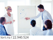 Купить «business seminar in office», фото № 22940524, снято 9 июня 2013 г. (c) Syda Productions / Фотобанк Лори