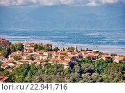 Купить «Signagi in Kakheti region, Georgia.», фото № 22941716, снято 18 сентября 2015 г. (c) Дмитрий Калиновский / Фотобанк Лори