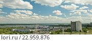 Купить «Правый берег реки Волга», фото № 22959876, снято 20 мая 2016 г. (c) Владимир Гуторов / Фотобанк Лори