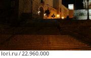 Купить «Cathedral of Santa Maria of Palma, Spain», видеоролик № 22960000, снято 11 мая 2016 г. (c) BestPhotoStudio / Фотобанк Лори