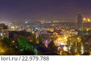 Купить «Липецк. Вид города с крыши», эксклюзивное фото № 22979788, снято 9 мая 2016 г. (c) Литвяк Игорь / Фотобанк Лори