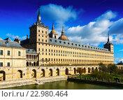 Купить «El Escorial. Royal Palace in sunny november», фото № 22980464, снято 16 ноября 2014 г. (c) Яков Филимонов / Фотобанк Лори