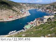 Купить «Балаклава, Крым», эксклюзивное фото № 22991416, снято 21 апреля 2016 г. (c) Яна Королёва / Фотобанк Лори