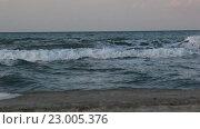 Море, прибой. Стоковое видео, видеограф Пётр Мусатов / Фотобанк Лори