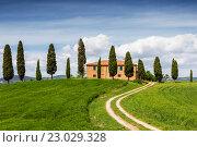 Сельский пейзаж.Тоскана (2014 год). Стоковое фото, фотограф Наталья Волкова / Фотобанк Лори