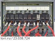 Купить «Полевой военный телефонный коммутатор на 10 абонентов», фото № 23038724, снято 4 июня 2016 г. (c) Игорь Долгов / Фотобанк Лори