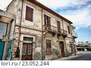 Купить «Старое здание в Ларнаке», фото № 23052244, снято 17 мая 2016 г. (c) Морозова Татьяна / Фотобанк Лори