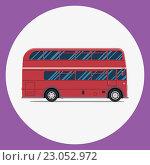 Купить «Лондонский автобус», иллюстрация № 23052972 (c) Алексей Плескач / Фотобанк Лори
