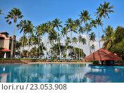 Купить «Отель Royal Palms. Шри Ланка. Калутара», фото № 23053908, снято 29 июля 2015 г. (c) Ирина Носова / Фотобанк Лори