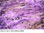 Купить «Чароит каменный фон», фото № 23054244, снято 24 февраля 2016 г. (c) Татьяна Белова / Фотобанк Лори
