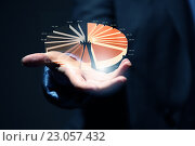 Купить «Analyzing sales data», фото № 23057432, снято 16 сентября 2012 г. (c) Sergey Nivens / Фотобанк Лори