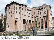 Купить «Театр Марцелла (Teatro di Marcello). Рим. Италия», фото № 23080096, снято 23 апреля 2016 г. (c) Екатерина Овсянникова / Фотобанк Лори