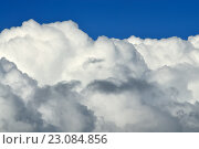 Купить «Кучевые облака», фото № 23084856, снято 15 мая 2016 г. (c) Сергей Трофименко / Фотобанк Лори
