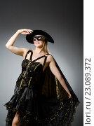 Купить «Woman in pirate costume - Halloween concept», фото № 23089372, снято 17 августа 2014 г. (c) Elnur / Фотобанк Лори