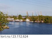 Купить «Устье реки Самарка», фото № 23112624, снято 11 мая 2016 г. (c) Акиньшин Владимир / Фотобанк Лори