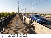 Купить «Мост через реку Самарку», фото № 23112628, снято 11 мая 2016 г. (c) Акиньшин Владимир / Фотобанк Лори