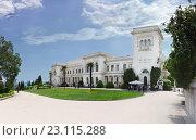 Ливадийский дворец. Ливадия, Крым (2016 год). Редакционное фото, фотограф Наталья Гармашева / Фотобанк Лори
