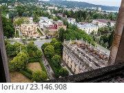 Купить «Вид на Сухуми с высоты», фото № 23146908, снято 6 августа 2015 г. (c) Сергей Гусев / Фотобанк Лори