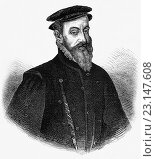 """Купить «Sir Thomas Gresham (1519 â. """" 1579), was an English merchant and financier who acted on behalf of King Edward VI, Queen Mary I and Elizabeth I founded the Royal Exchange in the City of London in 1565.», фото № 23147608, снято 22 мая 2016 г. (c) age Fotostock / Фотобанк Лори"""